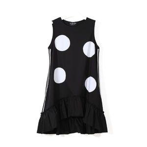 Dresses & Skirts - Polka-Dot Midi Dress